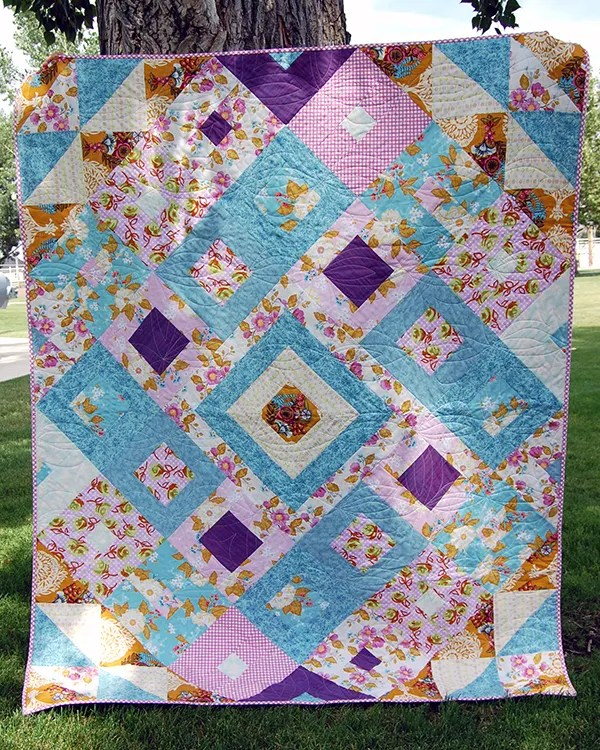 Tumbling Jewels Quilt