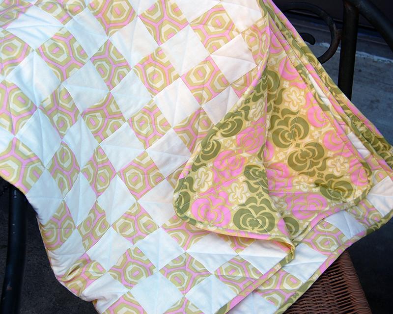 vivians baby quilt 4