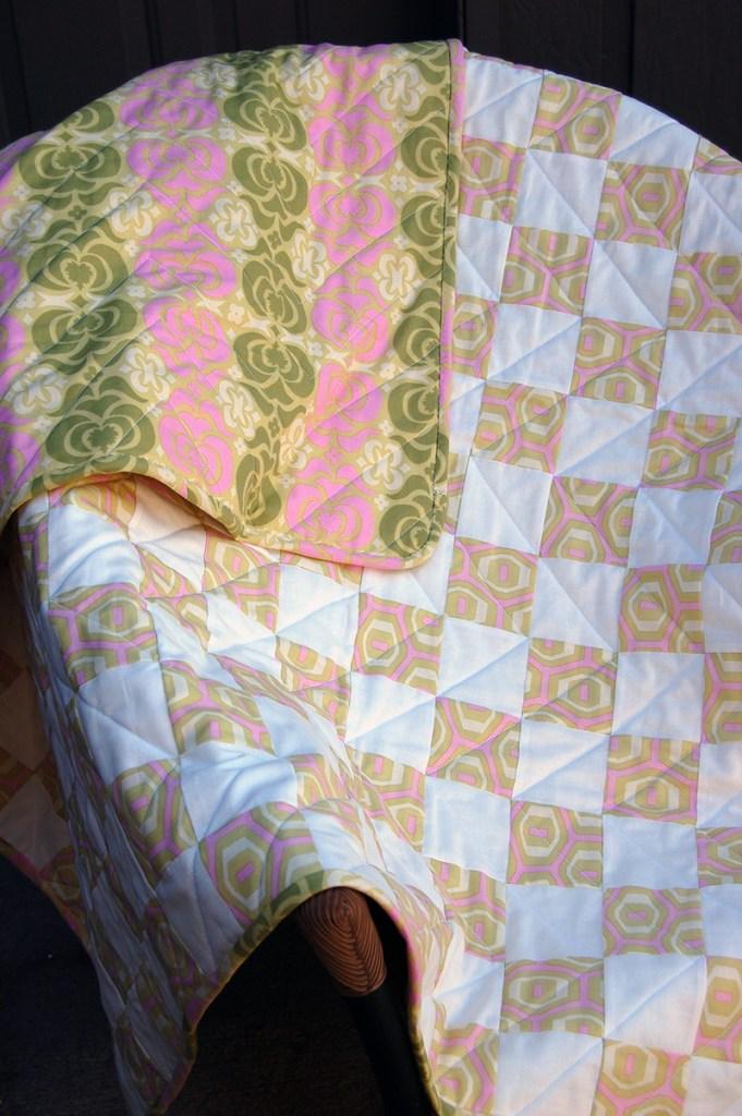 vivians baby quilt 5