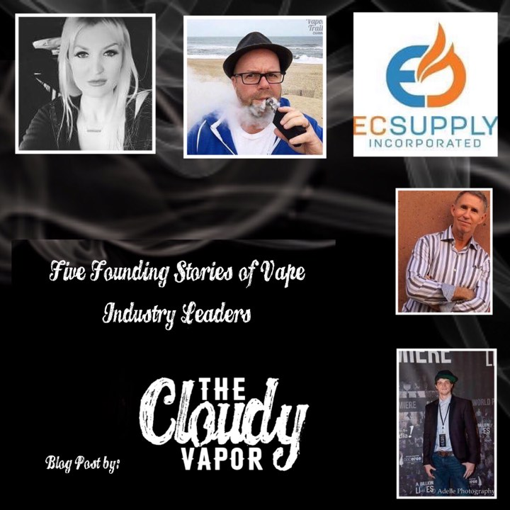 Five Founding Stories of Vape Industry Leaders