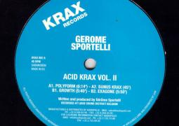 Gerome Sportelli - Acid Krax Vol. 2 - Krax Records