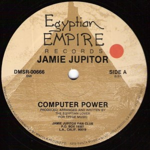 Jamie Jupiter - Computer Power - Egyptian Empire Records