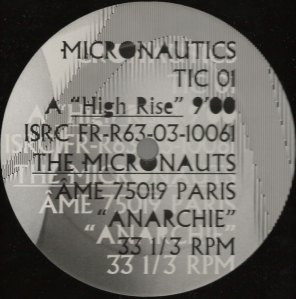 The Micronauts - Anarchie - Micronautics