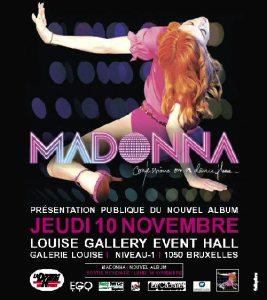Madonna - Confessions On A Dancefloor - Le Cabaret Brussels