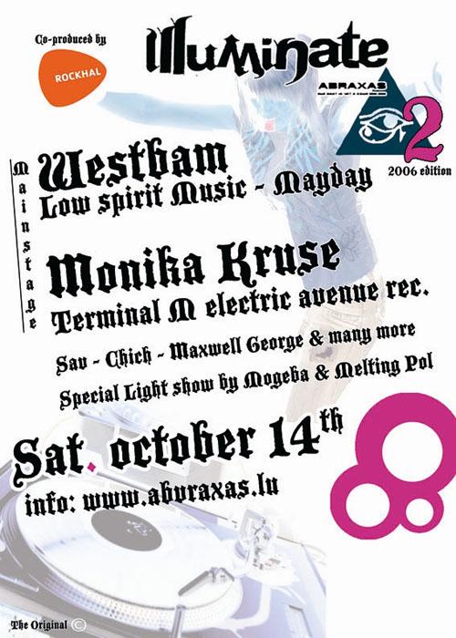 Illuminate 2 @ Rockhal le 14 octobre 2006 (Grand-Duché du Luxembourg)