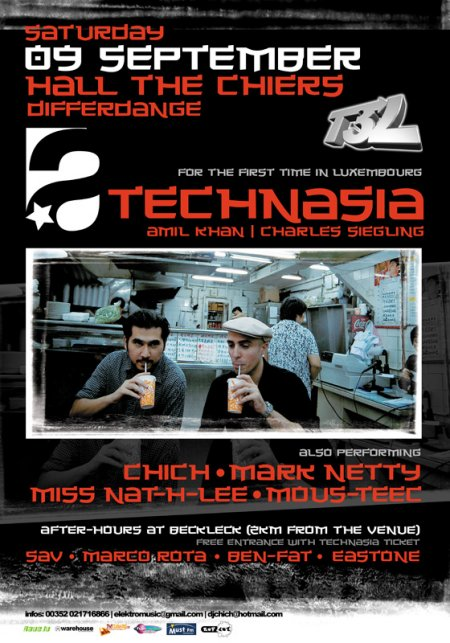 Technologic presents Technasia @ Differdange (Luxembourg) le 9 septembre 2006