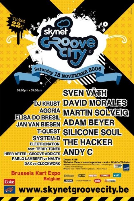 Skynet Groove City @ Brussels Kart Expo (Bruxelles) le samedi 18 novembre 2006