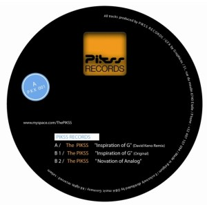 The Pikss - Innovation EP - Pikss Records