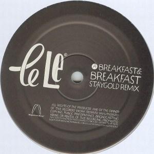 Le Le - Breakfast EP - Magnetron Music