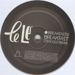 Le Le - Breakfast EP - Magnetron Music