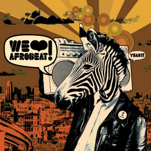 Various Artists - We Love Afrobeat! - Comet Records