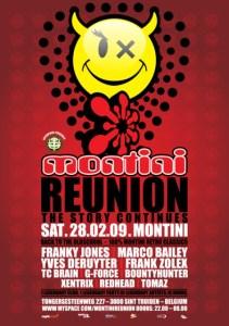 Montini Reunion - The Story Continues au Montini le 28 février 2009