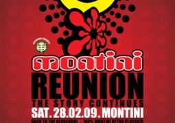 Montini Reunion – The Story Continues au Montini le 28 février 2009