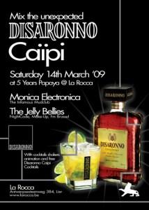 Mix The Unexpected - Disaronno Caïpi à La Rocca le samedi 14 mars 2009