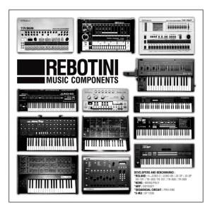 Rebotini - Music Components - Citizen Records