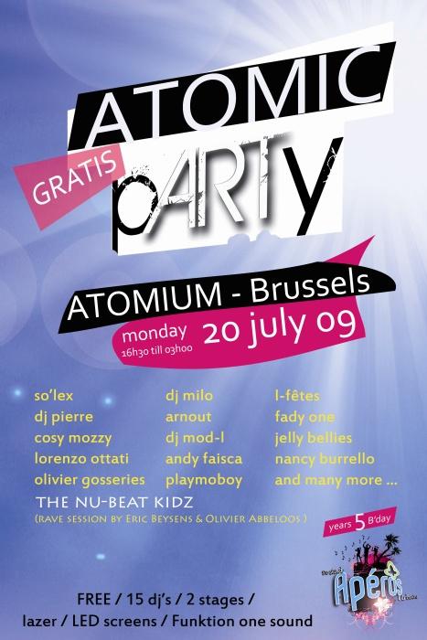 Les Apéros Urbains fêtent leurs cinq ans ce 20 juillet à l'Atomium