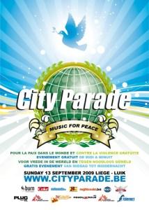 La City Parade 2009 sous le signe de gratuité ce dimanche 13 septembre