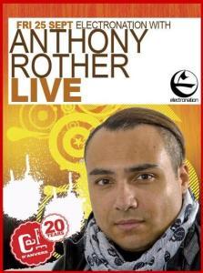 Le Café d'Anvers reçoit Anthony Rother en live ce 25 septembre 2009