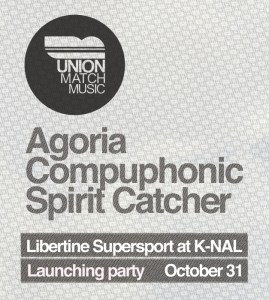 Lancement du label Union Match Music ce samedi 31 octobre au Libertine Supersport