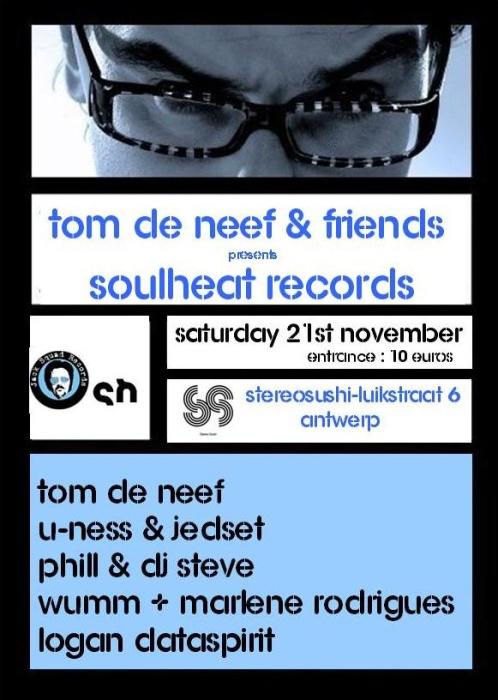 SoulHeat Records fêtera ses trois ans au Stéréo Sushi à Anvers ce 21 novembre 2009