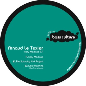Arnaud Le Texier - Ivory Machine EP - Bass Culture Records