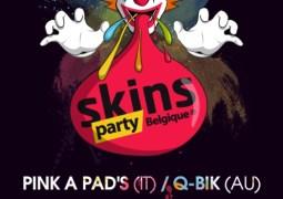 La Belgique aura aussi ses Skins Party à partir de ce 13 mars 2010