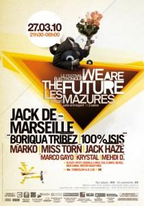 La nouvelle édition du festival We Are The Future aura lieu ce 27 mars