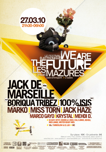 La nouvelle édition du festival We Are The Future aura lieu ce 27 mars
