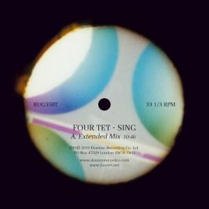 Four Tet - Sing EP - Domino