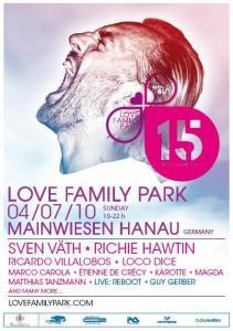 Le Love Family Park fête sa 15ème édition ce 4 juillet à Hanau