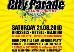 Les 10 ans de la City Parade auront lieu à Bruxelles ce 21 août