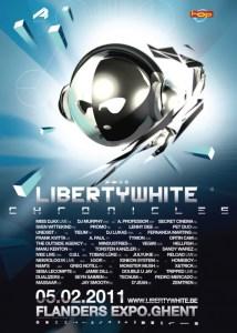 La Liberty White - Chronicles au Flanders Expo ce 5 février 2011
