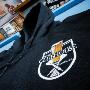 The Clubhouse Black Hoodie