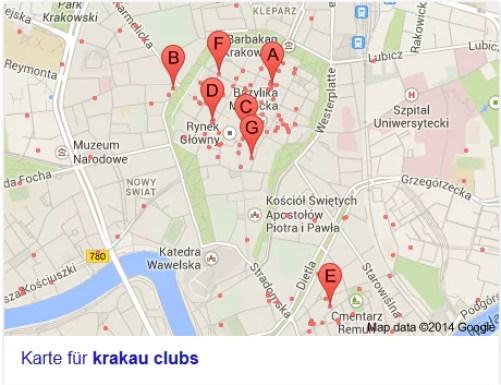 krakau-clubs