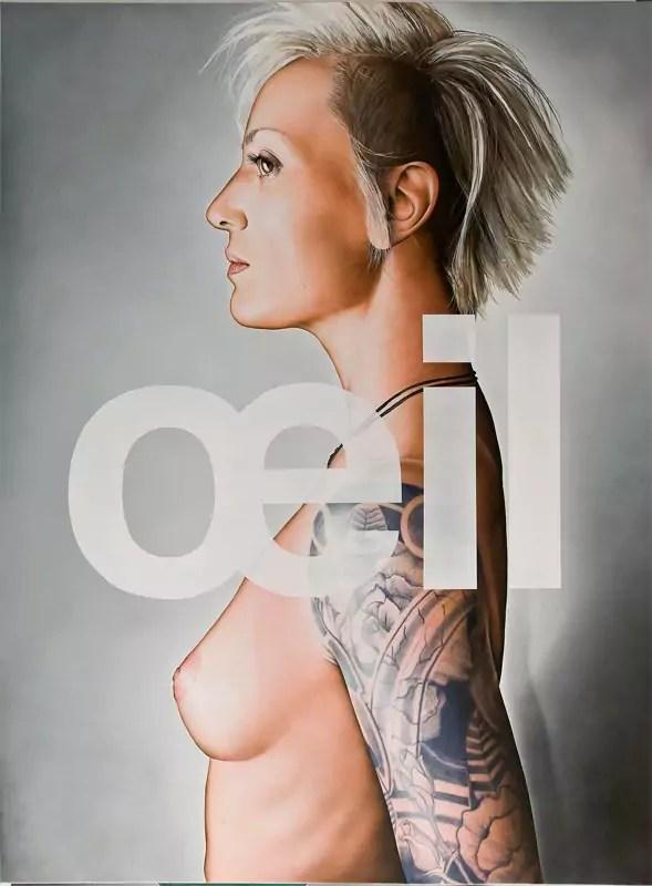 """Oeil 58x78"""" 2010 - 3"""