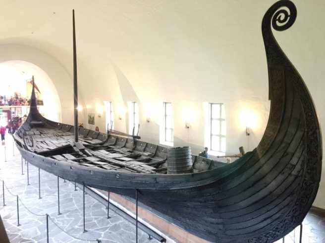 48 Hours in Oslo Viking ship at the viking museum in Oslo Norway
