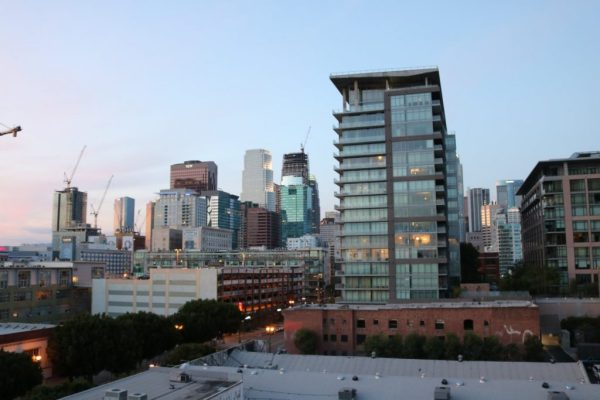 Downtown Los Angeles sunset Create & Cultivate Los Angeles
