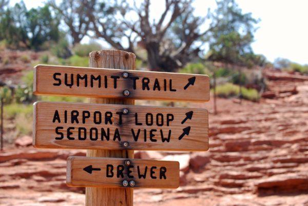 The Airport Vortex Trail in Sedona