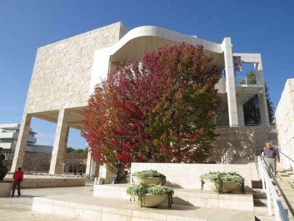 48 Hours in Los Angeles; architecture at The Getty Museum in the Fall