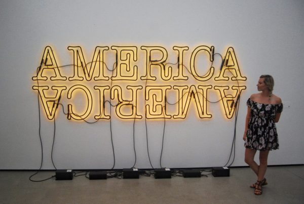 Everything You Need to Know When Visiting The Broad; America America art