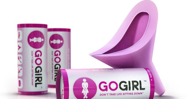 Best Travel Gift Ideas; go girl portable urinary cup