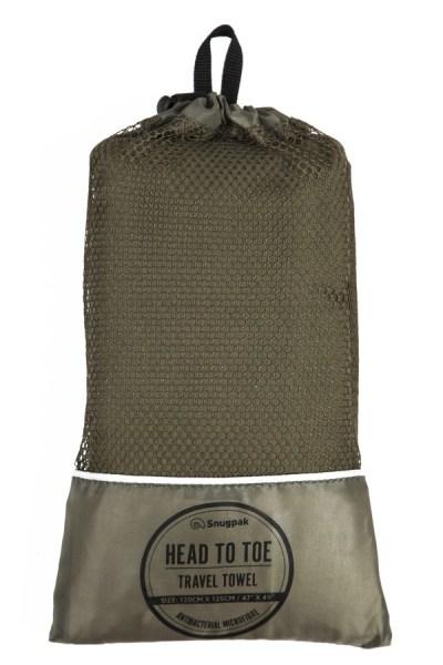 Best Travel Gift Ideas; sungpak head to toe travel towel