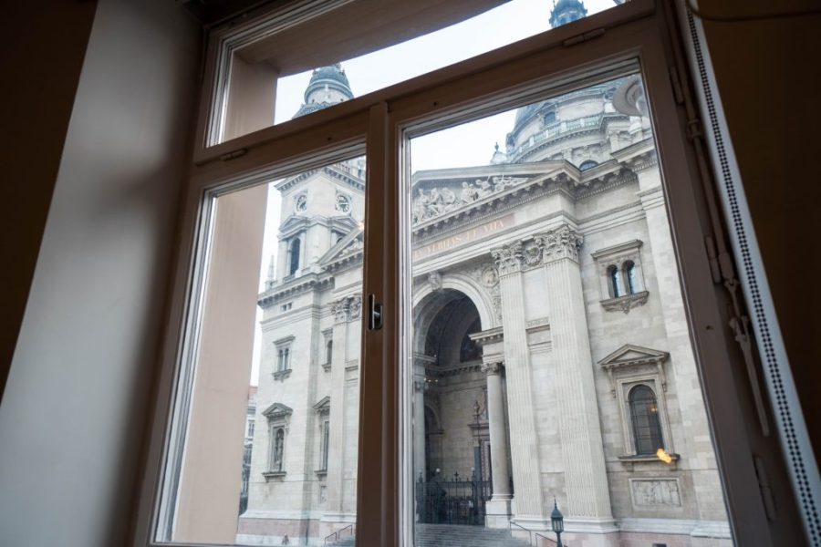 The Magazine Hotel and Apartments Budapest; Panorama Suite view