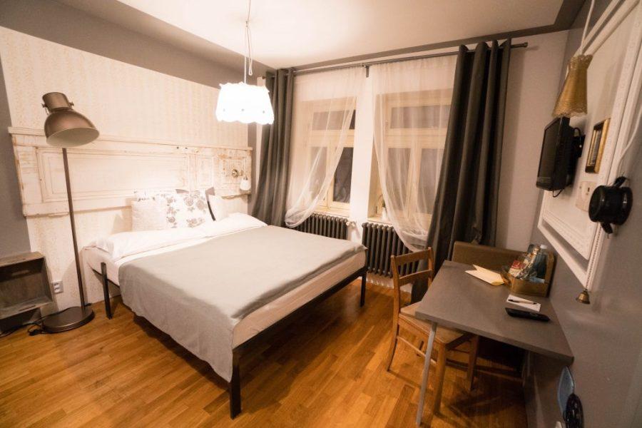 Miss Sophie's Hotel Prague interior bedroom