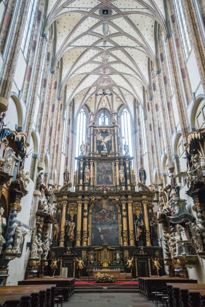 Hidden Sites of Prague; church interior