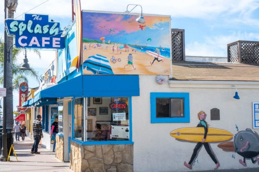 How to See Pismo beach; The splash cafe