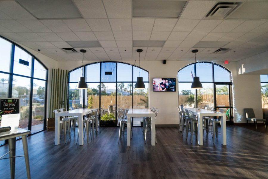 EATT Gourmet Bistro; interior