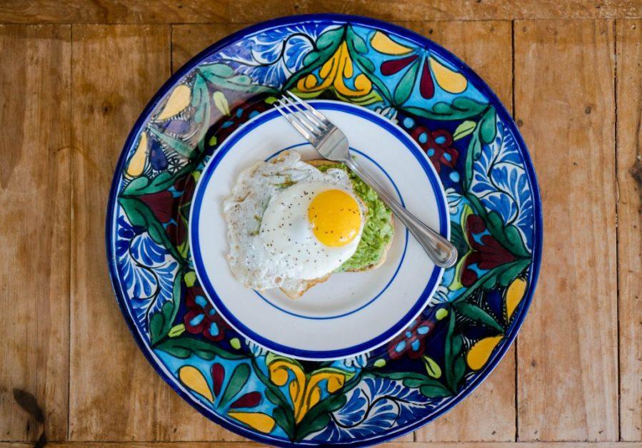 Vacasa Rentals; over easy avo toast