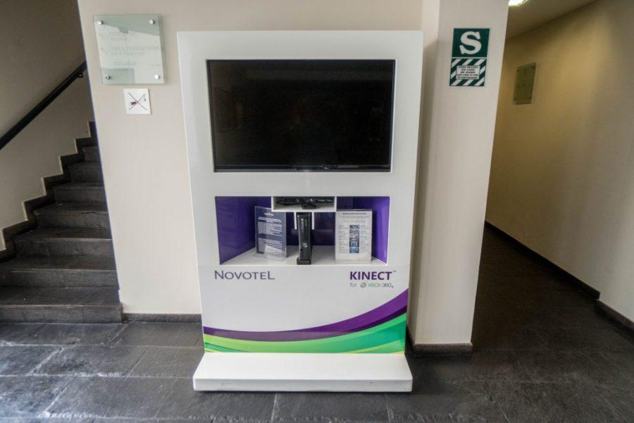 Novotel Cusco; Kinect xbox