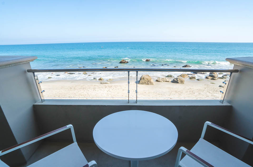 staying at Malibu Beach Inn; interior